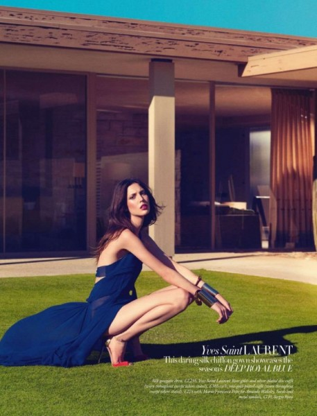 Ruby Aldridge by Norbet Schoerner for <em>Harper's Bazaar UK</em> February 2011