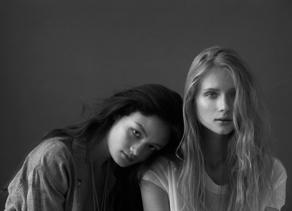 Jandra & Rachel by Stephen Ward for <em>Russh</em> #36