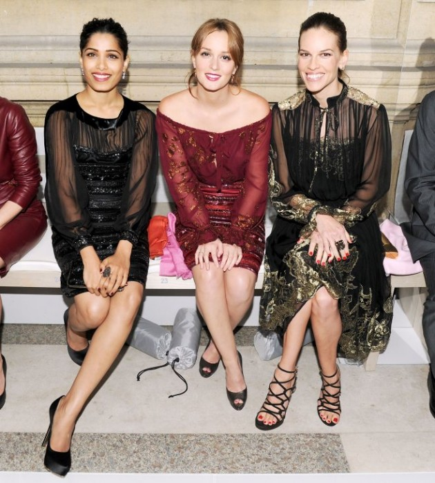 Salvatore Ferragamo's Star Studded Resort Event with Leighton Meester, Frieda Pinto, Hilary Swank & More