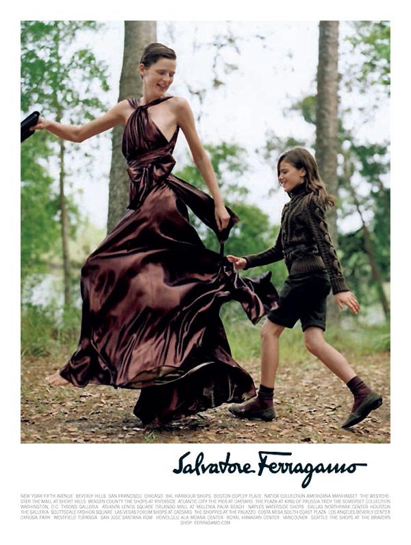 Salvatore Ferragamo Fall 2010 Campaign Preview | Stella Tennant by Bruce Weber