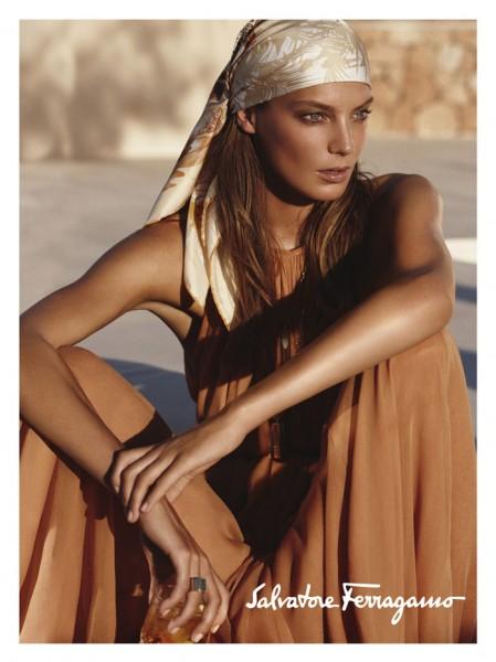 Salvatore Ferragamo Spring 2011 Campaign Preview | Daria Werbowy by Mikael Jansson