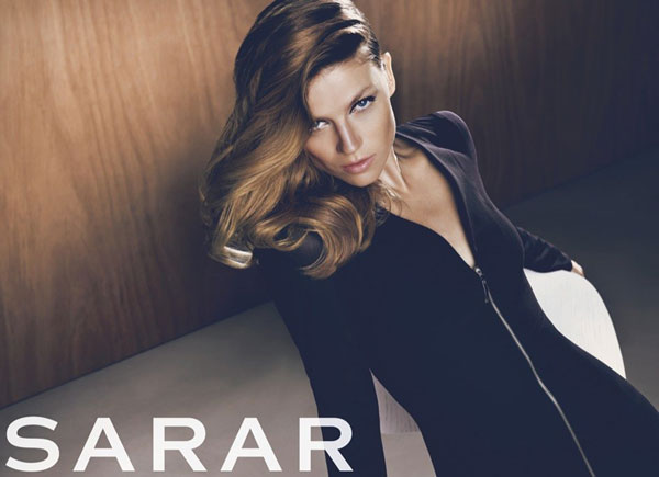 Masha Novoselova by Koray Birand for Sarar Fall 2010 Campaign