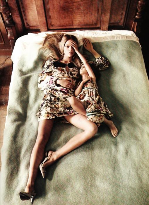 Sasha Pivovarova by Mikael Jansson for Vogue Paris November 2010