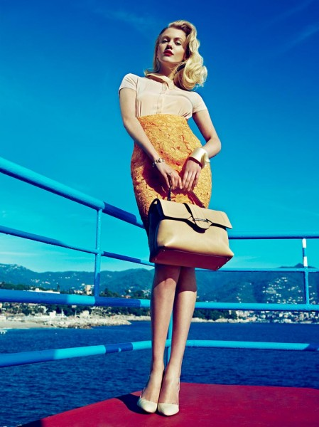 Sasha Melnychuk by Andoni & Arantxa for Elegance Netherlands May 2012