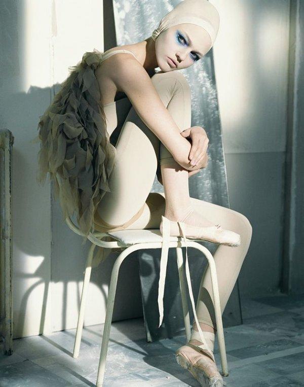 Morning Beauty | Sasha Pivovarova by Laurie Bartley