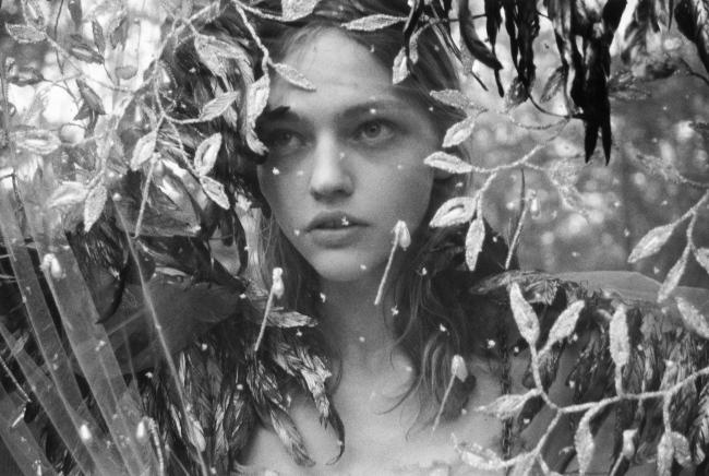 Morning Beauty | Sasha Pivovarova by Yelena Yemchuk