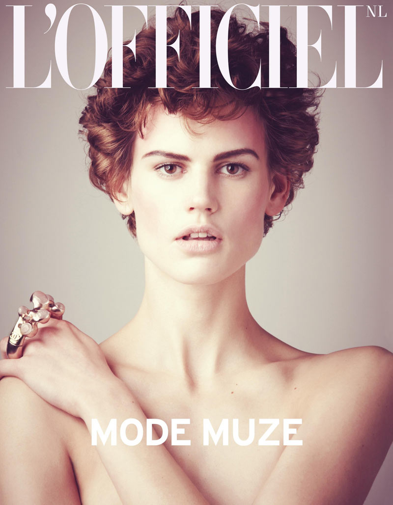 L'Officiel Netherlands April/May 2012 Cover | Saskia de Brauw by Matthew Brookes