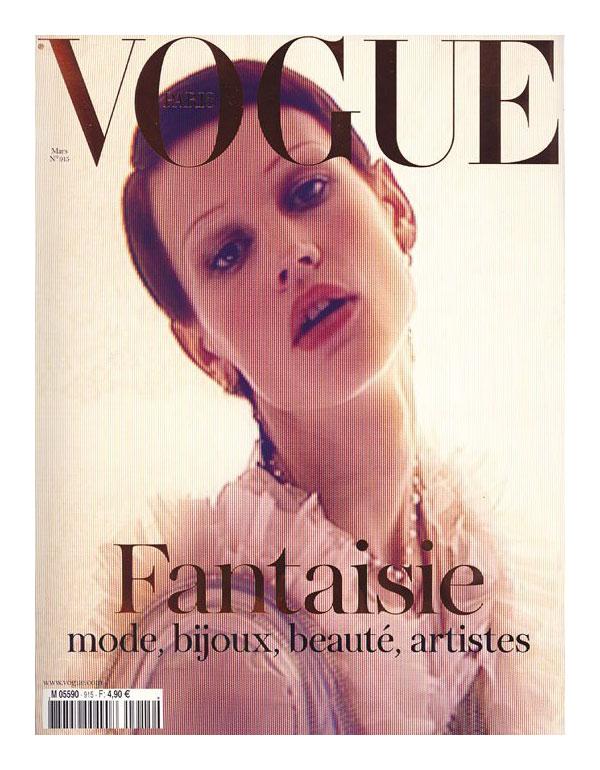 Vogue Paris March 2011 Cover | Saskia de Brauw by Mert & Marcus