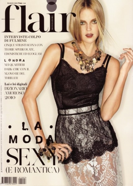 Flair March '10 Cover | Shannan Click by Matthias Vriens
