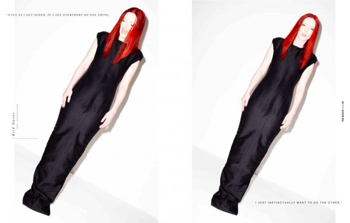 Shirley Manson by Kenneth Cappello for The Block S/S 2012