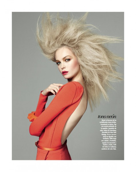 Siri Tollerod by David Roemer for <em>Vogue Latin America</em> March 2011