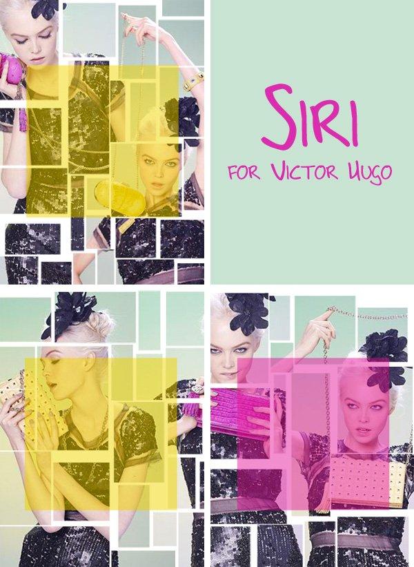 Siri Tollerød for Victor Hugo by Bob Wolfenson