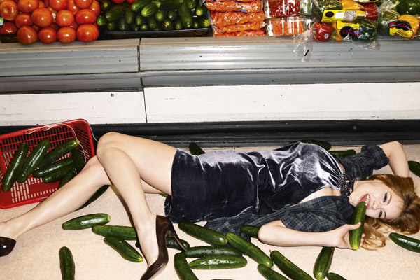 Sisley Fall 2010 Campaign | Ashley Smith by Terry Richardson