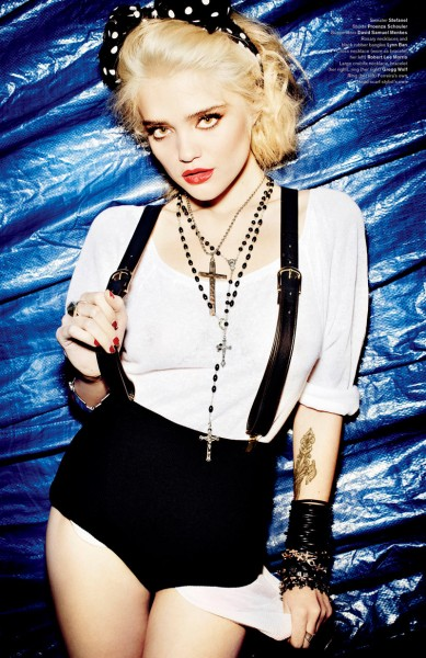 Sky Ferreira by Mario Testino for V Magazine #75