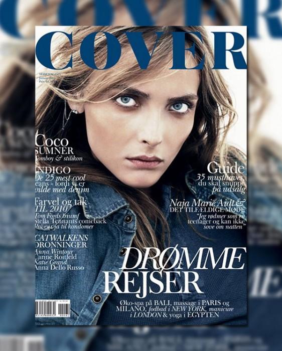 Cover Magazine January 2011 Cover   Snejana Onopka by Andreas Öhlund