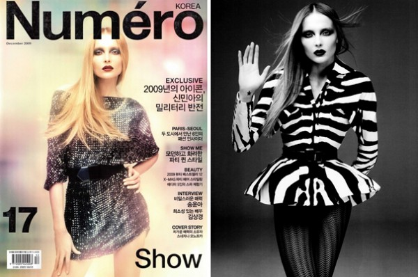 Show Me | Snejana Onopka by Mariano Vivanco for Numéro Korea