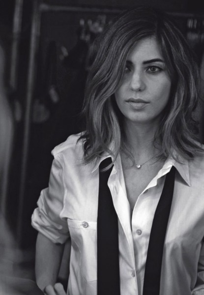 Sofia Coppola by Peter Lindbergh for <em>L&#8217;Uomo Vogue</em> September 2010