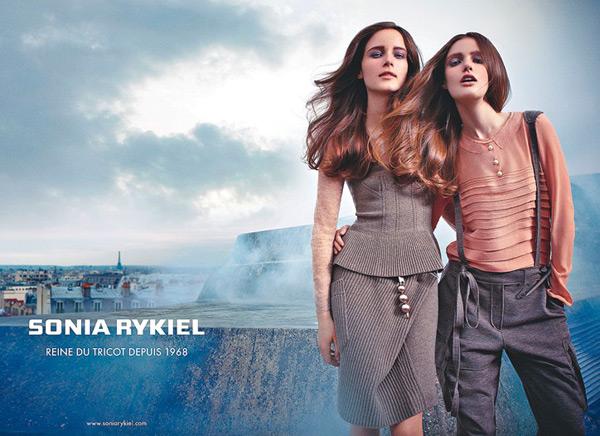Sonia Rykiel Fall 2010 Campaign Preview | Anna de Rijk & Katie Fogarty