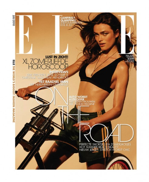 <em>Elle Netherlands</em> July 2010 Cover | Sophie Vlaming