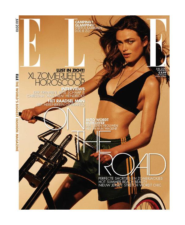 Elle Netherlands July 2010 Cover | Sophie Vlaming
