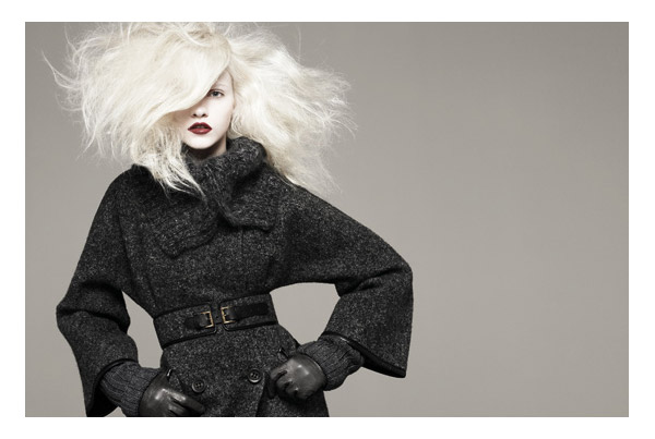 Sportmax Fall 2010 Campaign | Ginta Lapina by David Sims