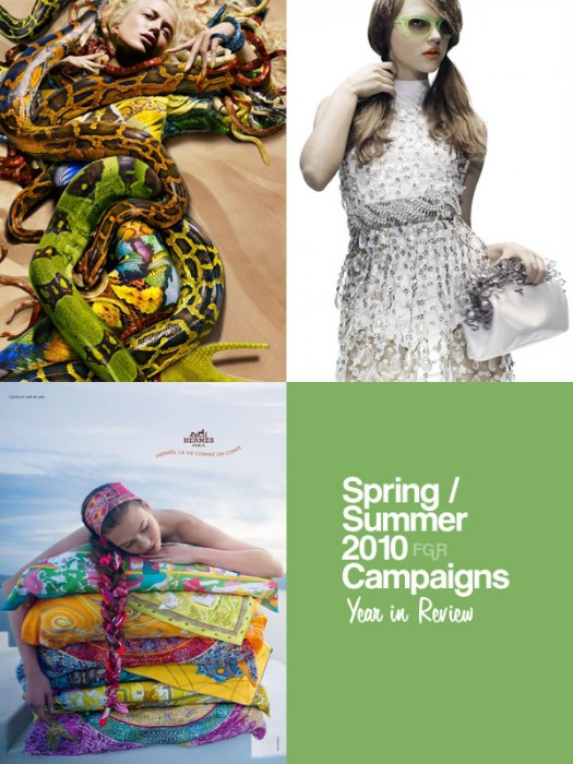 Year in Review   Spring/Summer 2010 Campaigns