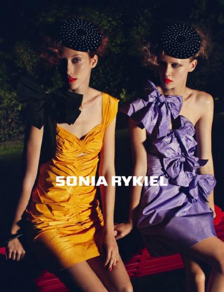 Sonia Rykiel S/S 2010 Preview | Alana Zimmer & Marike Le Roux