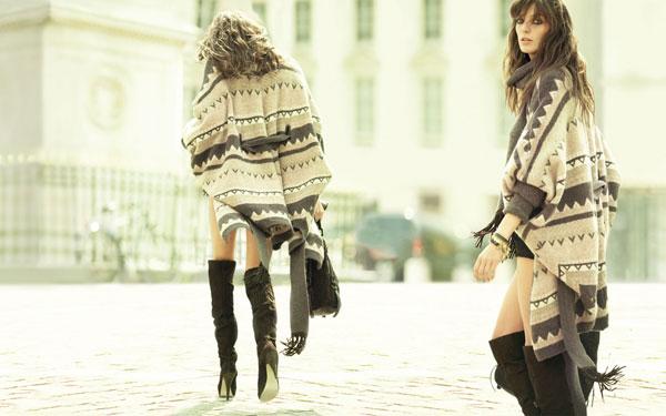 Stefanel Fall 2010 Campaign | Daria Werbowy by Mario Testino