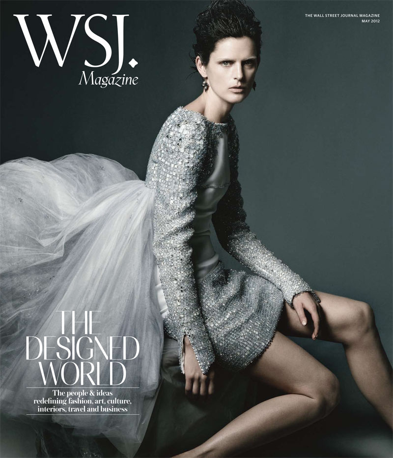 Stella Tennant Covers WSJ Magazine May 2012 in Chanel Haute Couture