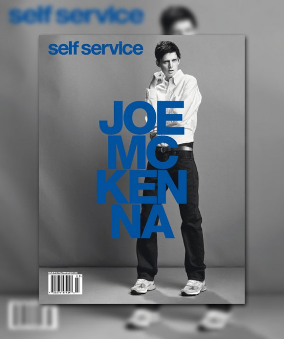 Self Service F / W 2010 Cover | Stella Tennant as Joe McKenna