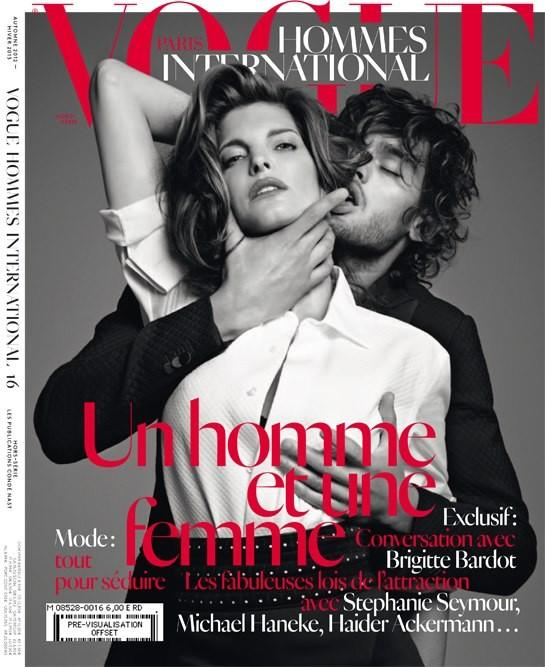Stephanie Seymour Gets Steamy for Vogue Hommes International's Fall/Winter 2012 Cover