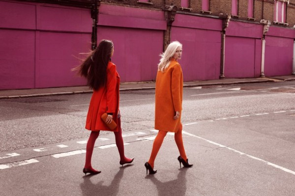 Alys Hale & Shenyue by Rupert Tapper for SCMP Style Magazine