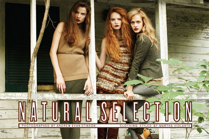 Snap! | Natural Selection by Andrew Evan Stinson for StyleCaster