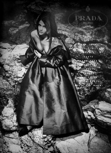 The Supermodel Experience | Helena Christensen for Prada Fall 1990