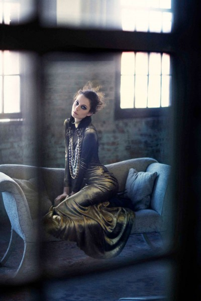 Suzie Bird by Chloe Crespi for <em>Harper's Bazaar Spain</em> September 2010