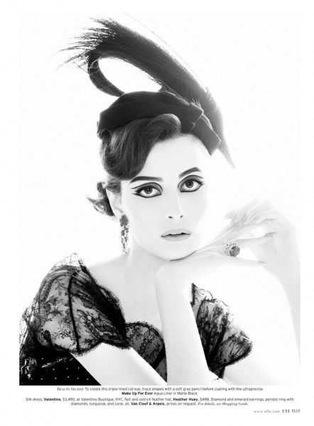 Suzie Bird by Thomas Whiteside for Elle US