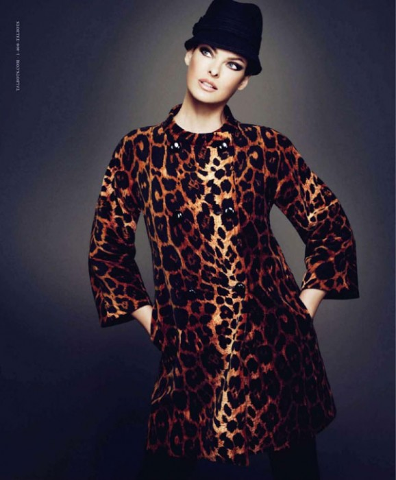Linda Evangelista by Mert & Marcus | Talbots Fall 2010 Campaign Preview