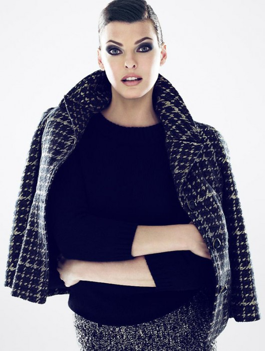Talbots Fall 2010 Campaign | Linda Evangelista by Mert & Marcus