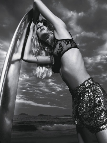 Lovani Pinnow by Jacques Dequeker for Talie NK Summer 2011 Campaign