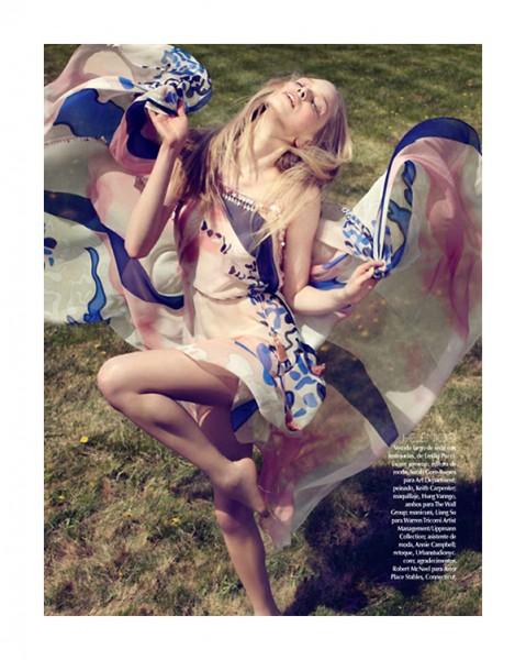 Tanya Dziahileva by David Roemer for Vogue Mexico June 2010