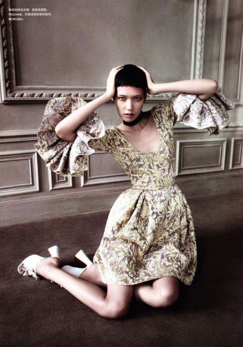 Tao Okamoto by John-Paul Pietrus for Numéro China December 2010