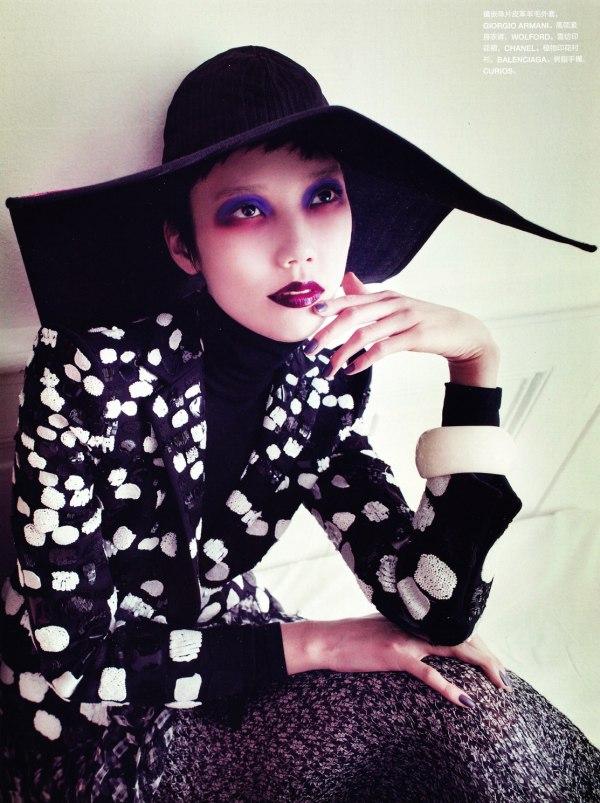 Tao Okamoto by Sofia Sanchez & Mauro Mongiello for Numéro China #5
