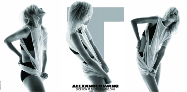 T by Alexander Wang Spring 2010 Campaign | Hannah Holman by Daniel Jackson