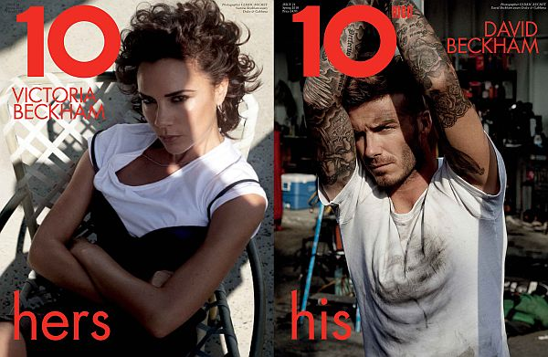 10 S/S '10 Issue | The Beckhams by Cédric Buchet