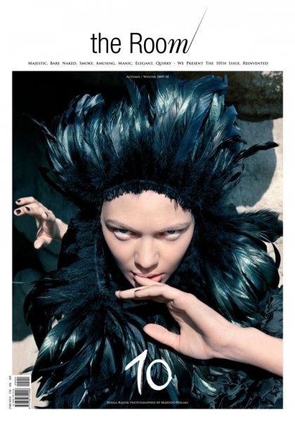 Preview   The Room Fall 2009 Issue with Kinga & Eniko