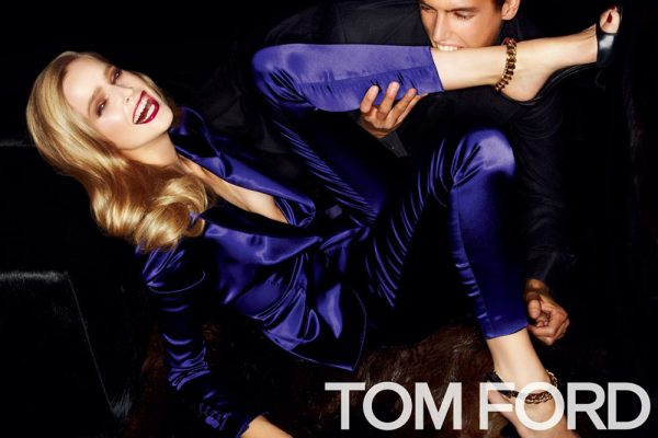 Mirte Maas for Tom Ford Spring 2012 Campaign by Tom Ford