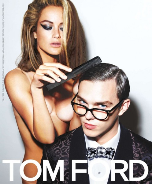 Tom Ford Eyewear Spring 2010 Campaign Preview | Carolyn Murphy & Nicholas Hoult by Tom Ford