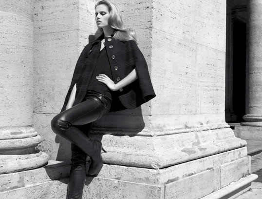 Campaign | Cato Van Ee for Tru Trussardi Fall 2009 by Milan Vukmirovic