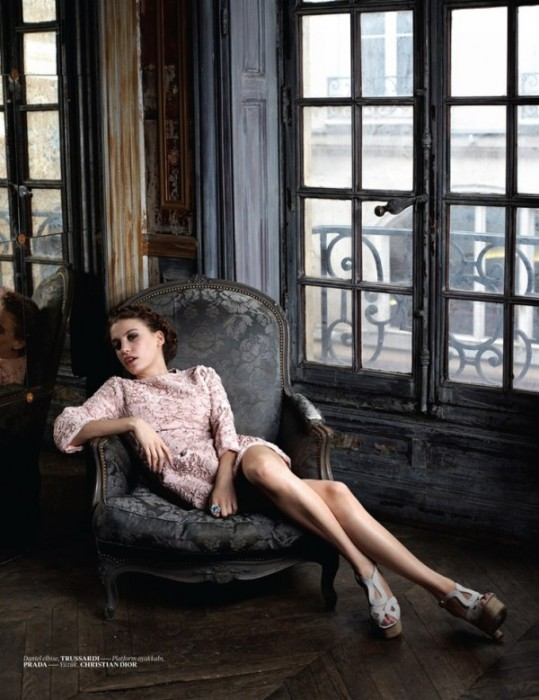 Serenay Sarikaya by Eric Guillemain for Vogue Turkey January 2011