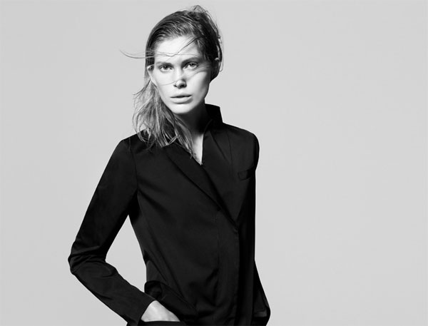 Jil Sander + Uniqlo Campaign | Iselin Steiro by David Sims